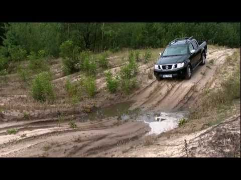 Nissan Navara & Nissan Pathfinder w terenie - test offroad PGD