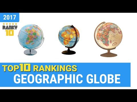 Best Geographic Globe Top 10 Rankings, Review 2018 & Buying Guide
