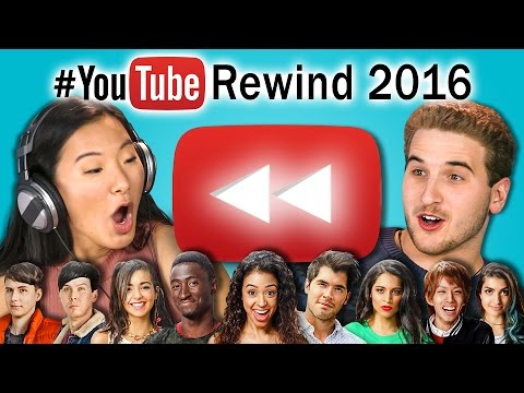 Download Youtube: TEENS REACT TO YOUTUBE REWIND 2016