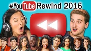 connectYoutube - TEENS REACT TO YOUTUBE REWIND 2016