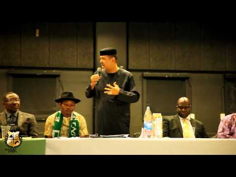TOWN HALL MEETING WITH NIGERIAN AMBASSADOR IN SWEDEN