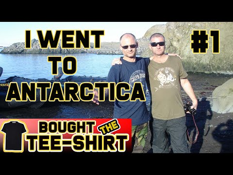 #1 Flat Earth - I Went to Antarctica thumbnail