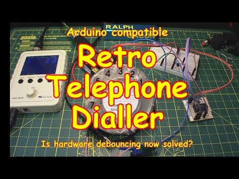 #98 Retro Telephone Dialler and Hardware Debouncing Solution