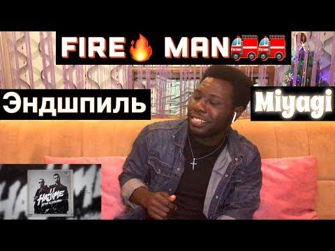 Miyagi & Эндшпиль - Fire Man |Реакция ИНОСТРАНЦА