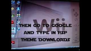 How to put Themes on your PSP