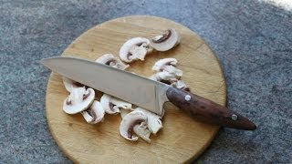 Making A Kitchen Knife