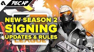 OWL Season 2 Player Signing News, Overwatch Contenders Update & Rascal Joins New Team | Akshon Recap