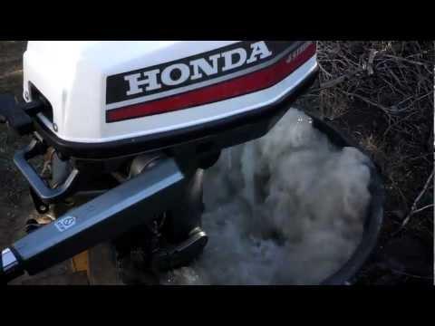 Honda 5hp 4 stroke outboard motor the bf50 doovi for Honda 2 5 hp outboard motor