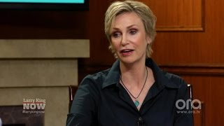 Jane Lynch Pays Tribute To Friend And Agent Gabrielle Krengel | Larry King Now | Ora.TV