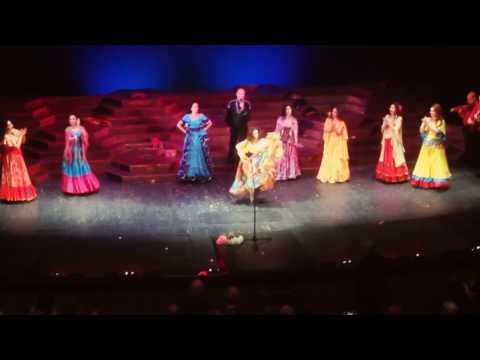 """Театр """"Ромэн"""" спектакль """"Мы цыгане"""" танцует Патрина Оглу-Рубенчик."""