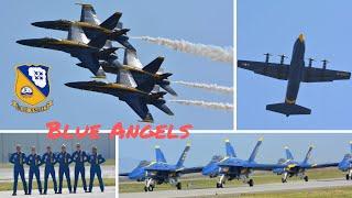 blue Angels Saturday Demo .. California International Airshow 2019 (4K)