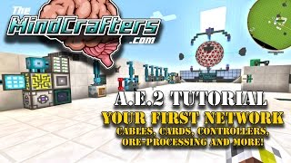 Tutorial - AE2 - EP02 - Your First Network