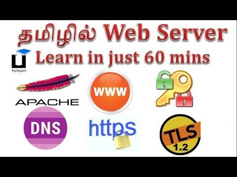 Payilagam - Apache Web server in Tamil - Http -  Https - TLS 1.2 - Name & port virtual hosting