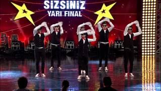 Yetenek Sizsiniz Türkiye Yarı Final - Crazy Eyes