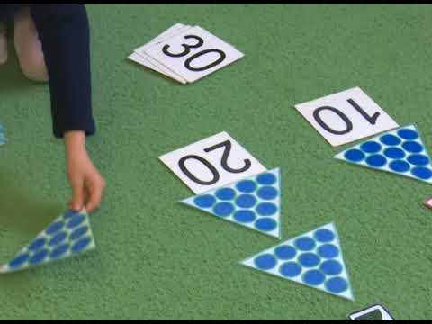 Математика с детьми 4 и 5 лет по методикам Н.А.Зайцева.