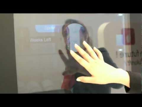 IFA 2012 - Haier Transparent Touchscreen Fridge