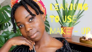Learning to use (easy, minimal) make-up // Holistic Living