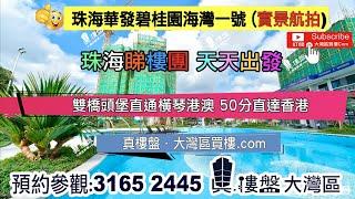 雙橋頭堡直通橫琴港澳 50分直達香港