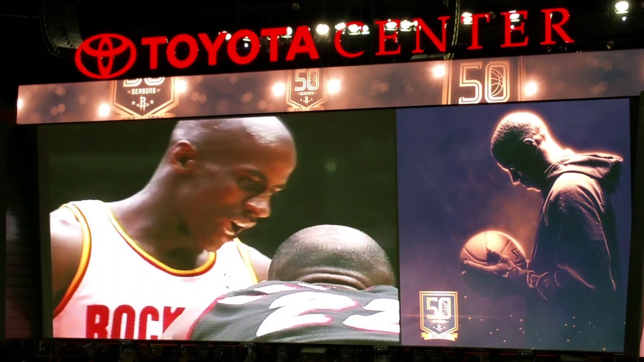 Houston Rockets Tribute Video Vernon Maxwell