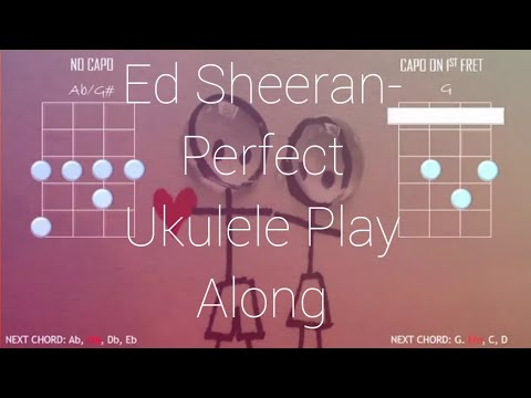 Perfect- Ed Sheeran Ukulele Play Along