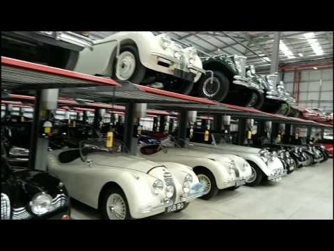 Jaguar Land Rover Classic Works - behind the scenes!
