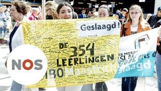 """MINISTER: """"Knetterhard werken"""" voor diploma scholieren Maastricht"""