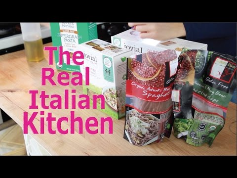 Best Gluten Free Pasta Honest Review Real Italian Kitchen Episode 101