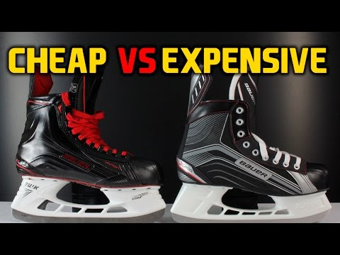 Cheap Hockey Skates VS Expensive Skates - What's The Difference