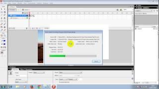 Gambar cover Cara Memasukan Video Ke Dalam Project Macromedia Flash 8
