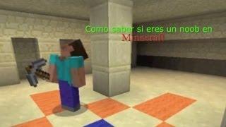 Como saber si eres un noob en Minecraft