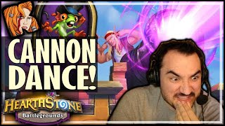 THE DIVINE CANNON DANCE! - Hearthstone Battlegrounds