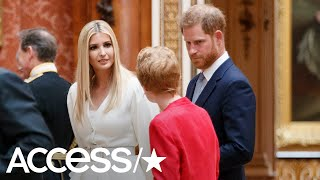Prince Harry Gets Chummy With Ivanka Trump During Donald Trump's UK Visit | Access