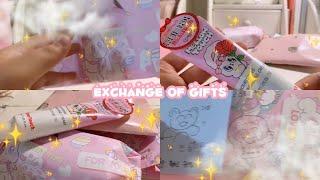 친구와 선물교환 후기     •  선물교환  •  베지…