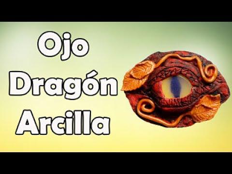 Cómo Hacer Ojo De Dragón con Arcilla Polimérica
