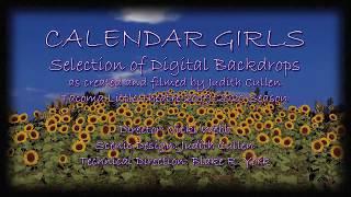 CALENDAR GIRLS Digital Backdrops - Selections from Final