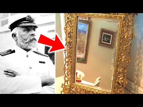 The Titanic Captain's Mysterious Haunted Mirror Is Going Up For Auction