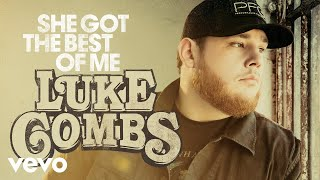 luke combs she got the best of me audio