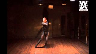 WAWA DANCE ACADEMY GAIN PARADISE LOST DANCE STEP MIRRORED MODE