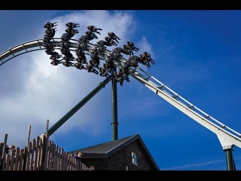 Flug Der Dämonen Heide Park Soltau Germany Youtube