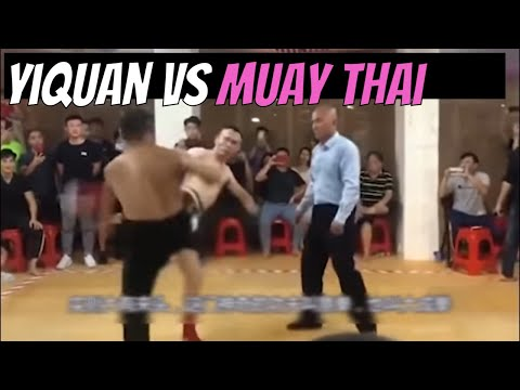 Yi Fist Kung Fu Vs Muay Thai In Bare Knuckle Kickboxing Match