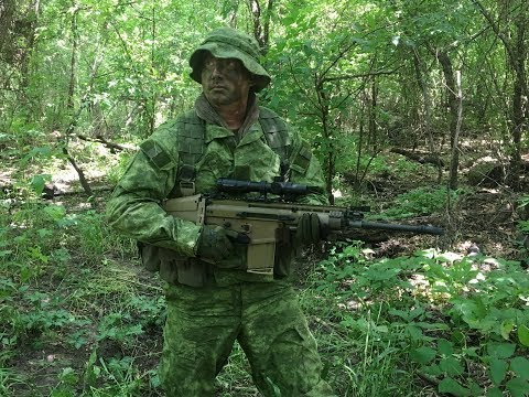 How To Dye UCP Into A Functional Tropical Camouflage Pattern