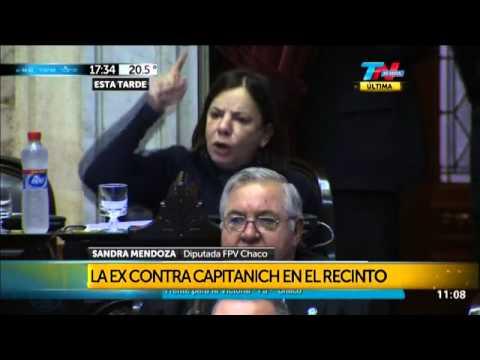 Sandra Mendoza Contra Su Ex Marido Ese Señor De La Cadena Nacional