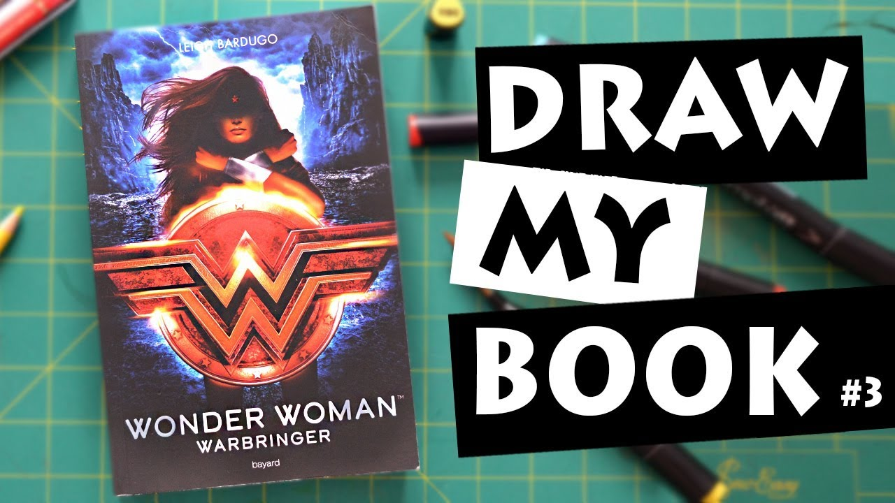 Draw My Book 3 Wonder Woman