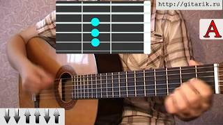 Сплин - Мое сердце остановилось урок на гитаре