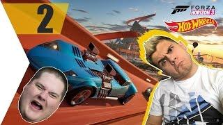NAGY A FELFORDULÁS! :D | ISTI vs. UNFIELD | Forza Horizon 3 Hot Wheels | #2.