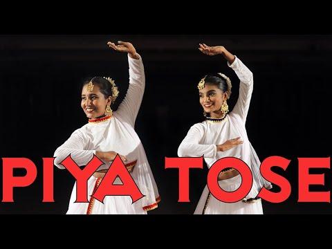Piya Tose Naina Lage Re - Jonita Gandhi Cover | KathaNatyam | Kathak Bharatanatyam Fusion