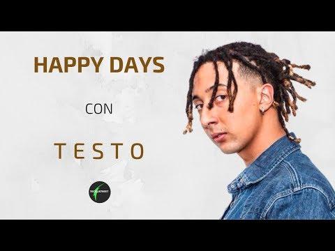 GHALI HAPPY DAYS (TESTO+CANZONE)