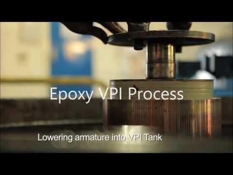Epoxy Vacuum Pressure Impregnation (VPI) Facility - Houghton International