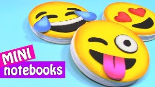 EMOJI MINI NOTEBOOKS. Very easy! - Innova Crafts