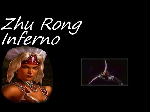 Let's Play Dynasty Warriors 4 #90 - Zhu Rong Level 10 Weapon - Inferno
